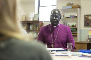 Bishop Joseph Garang Atem of Renk visits All Saints' each year.